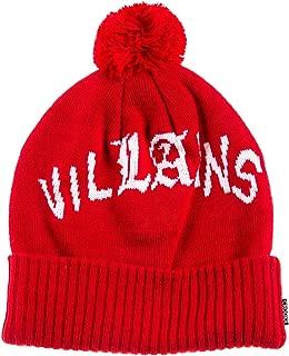 Crooks & Castles Mens Villains Pom Knit Beanie Hat