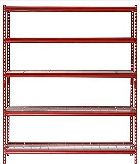Muscle Rack UR601872WD5-R 5-Shelf Steel Shelving Unit, 60