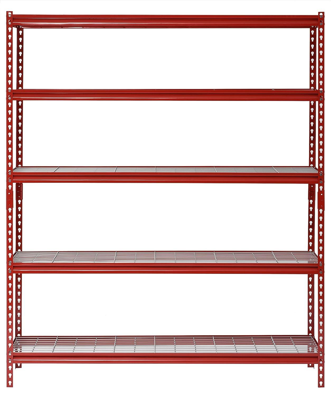 Muscle Rack Phoenix Mall UR602472WD5-R 5-Shelf unisex Steel Width 60