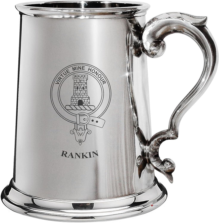 descuento de bajo precio I Luv LTD Cresta de la familia familia familia de Rankin esta±o pulido 1 pinta la jarra de cerveza con el desfile de manejar  vendiendo bien en todo el mundo