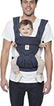Ergobaby Carrier, 360 All Carry Positions Baby Carrier, Navy Mini Dots