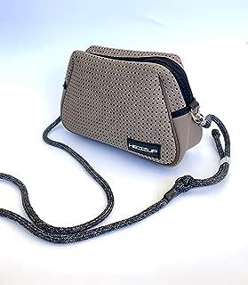 Hedzup Neoprene Khaki Green Shoulder Bag