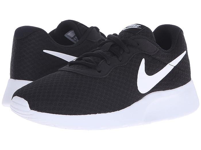 Nike Tanjun (Black/White) Women's Running Shoes
