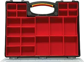 Homak Plastic Organizer with 22 Removable Bins, HA01122238