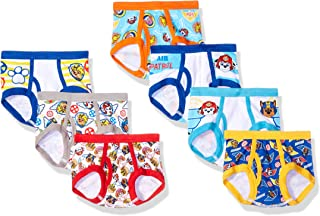 Nickelodeon Handcraft Little Boys' Toddler Paw Patrol  Brief (Pack of 7), Assorted, 2/3T
