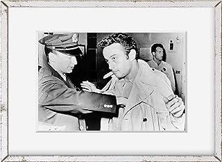 INFINITE PHOTOGRAPHS Photo: Lenny Bruce   Police Station   1961   Historic Photo Reproduction   Historic Wall Art