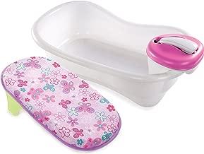 Summer Infant Newborn to Toddler Bath Center & Shower, Pink