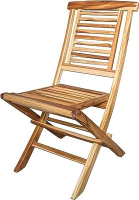 Amazon.com: Sillas de comedor silla de madera maciza ...