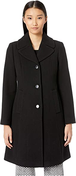 Notch Belted Coat