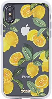 Sonix Lemon Zest Case for iPhone X/Xs [Military Drop Test Certified] Protective Clear Case for Apple iPhone X, iPhone Xs