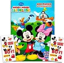 Disney Mickey Mouse Clubhouse Gigantic Coloring Book Set with Stickers, Puzzles and Activities (400 Coloring Pages)