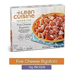 LEAN CUISINE FAVORITES Five Cheese Rigatoni 10 oz. Box   Delicious Frozen Meals