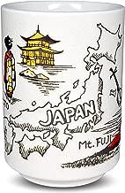 Japanese Yunomi Sushi Tea Cup Mino Ware, Japanese Cultural Items Print