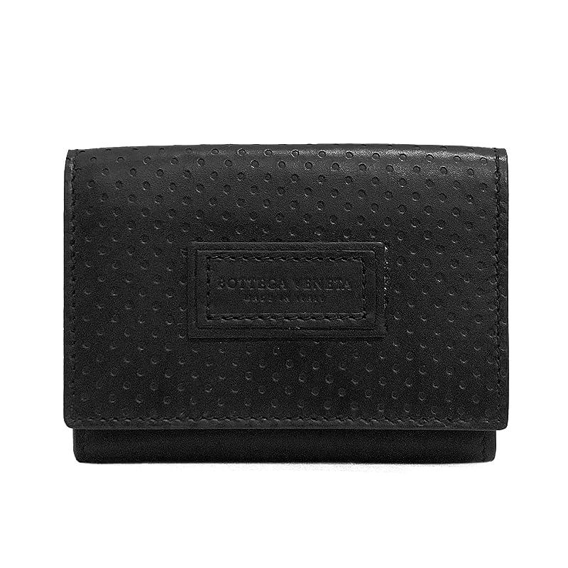 安息ネット鏡[ボッテガ?ヴェネタ] BOTTEGA VENETA 財布 レッジェーロ 三つ折りウォレット 515385 VQ12C 1000 メンズ 折り財布 レザー ブラック [並行輸入品]