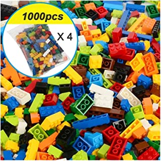 YOUPIN 250-1000 Pcs Colorful Building Blocks Bricks Kids Creative Block Toys Figures for Children Girls Boy Christmas Gift...