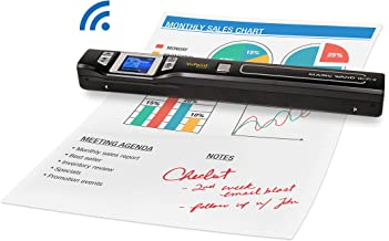 Vupoint Magic Wand Portable Scanner with Wi-Fi wireless (PDSWF-ST47-VP) Handheld