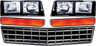 Allstar Performance ALL23014 Monte Carlo SS Nose Decal Kit, Stock Grille