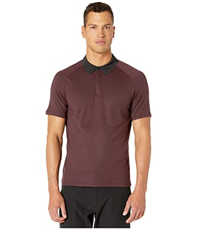 RYU Tech Polo Shirt (Blackened Cocoa) Men