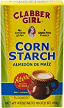Clabber Girl Corn Starch 16 Ounce Pack of 12