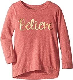Believe 3/4 Pullover (Big Kids)