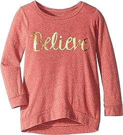 Believe 3/4 Pullover (Big Kids)