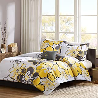Best yellow & gray comforter sets Reviews