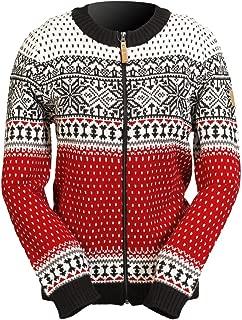 Martha Women's Nordic Wool-blend Sweater (XL, Red)