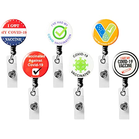COVID-19 Vaccinated Badge Reel