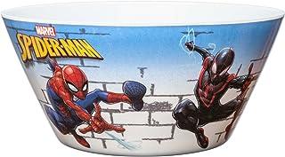 Zak Designs Marvel Comics Kid's Soup Bowls, 27 oz, Spider-Man