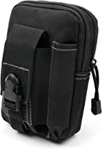 Black Multi-Purpose Waist Bag with Two Zipped Compartments - Suitable for Medion Life P44024 | Medion Life S47121 | Medion...
