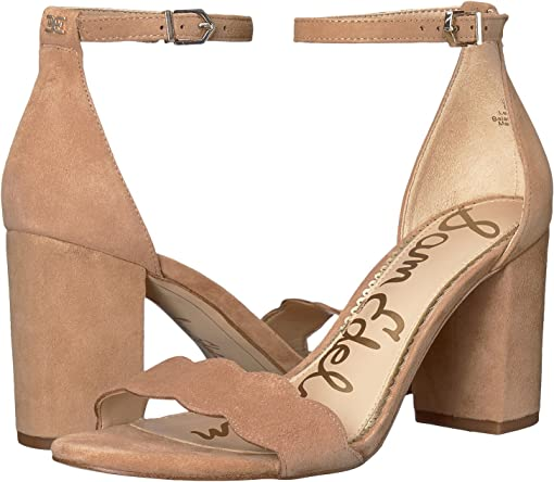 Camel Suede Leather