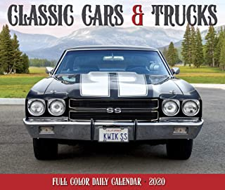 Classic Cars & Trucks 2020 Box Calendar