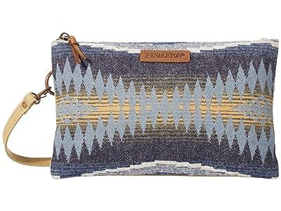 Pendleton Large Three-Pocket Keeper (Crescent Bay) Handbags