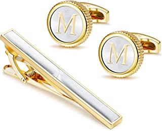 FindingKing Gold Plated Oval Cuff Links