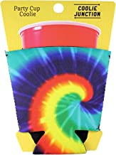 Coolie Junction Tie Dye Pattern Solo Cup Coolie