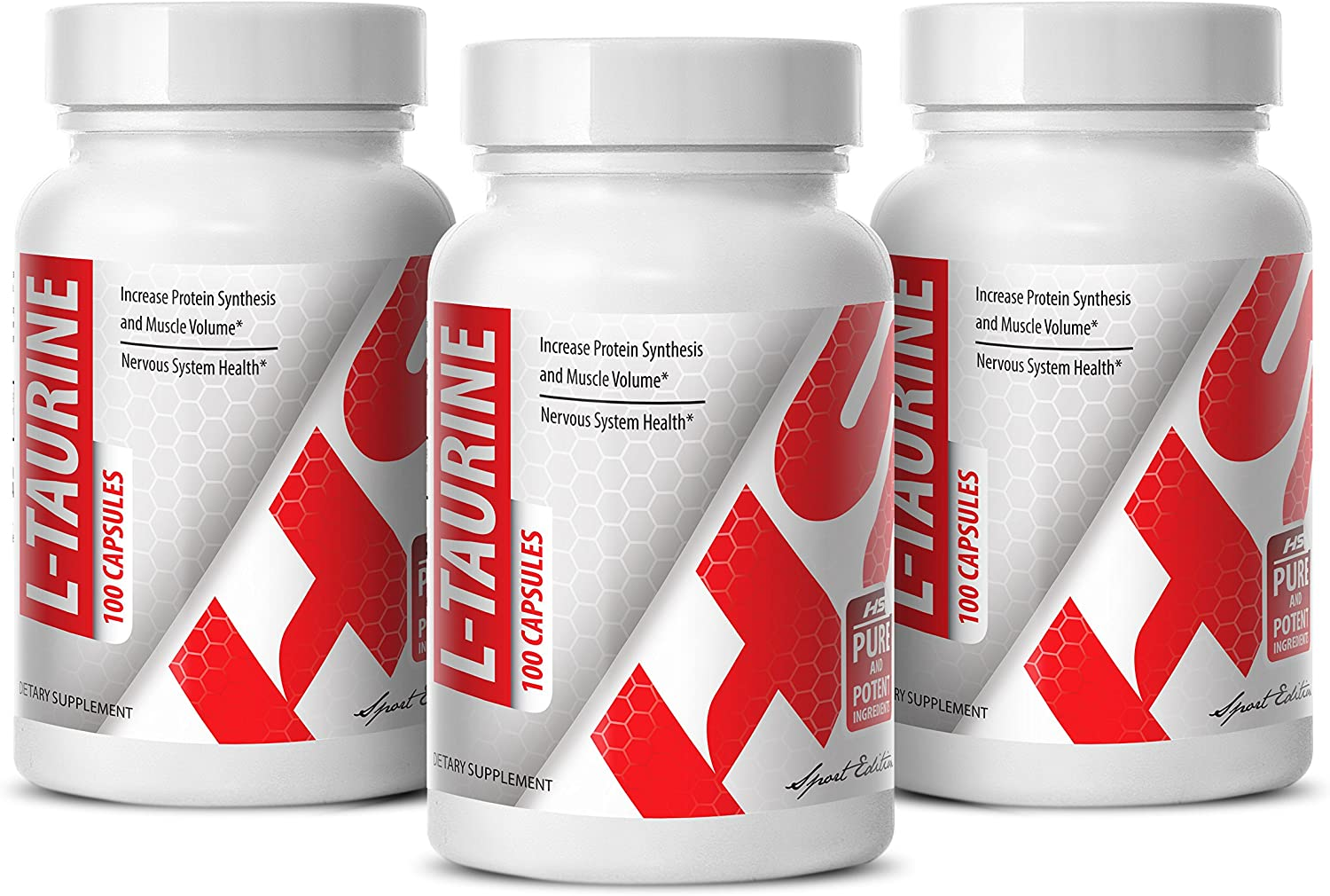 Cholesterol Support - sale Cheap mail order sales L-Taurine 500MG Brain Supplement