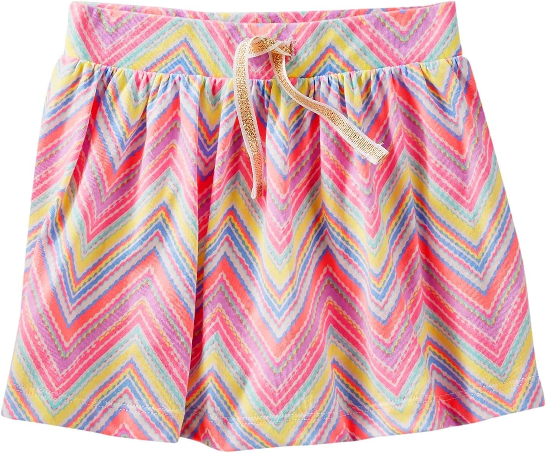 OshKosh Pink Girls' Mix Kit Scooter Skirt, Pink, 6-9 Months