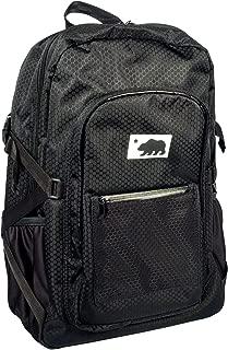 Cali Crusher 100% Smell Proof Backpack w/Combo Lock (Black)