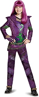 Girls Descendants 2 Mal Deluxe Costume Size 10/12