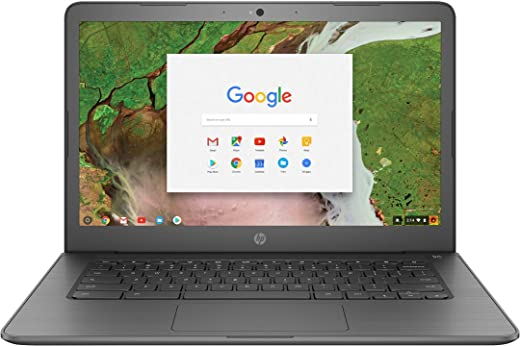 """HP Chromebook 14"""" Touchscreen Laptop Computer for Student_ Intel Celeron N3350 up to 2.4GHz_ 4GB DDR4 RAM_ 32GB eMMC_ AC WiFi_ Type-C_ Webcam_ Chrome OS_ BROAGE 64GB Flash Stylus_ Online Class Ready"""