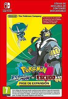 Pokémon Espada y Pokémon Escudo: Pase de expansión | Nintendo Switch - Código de descarga