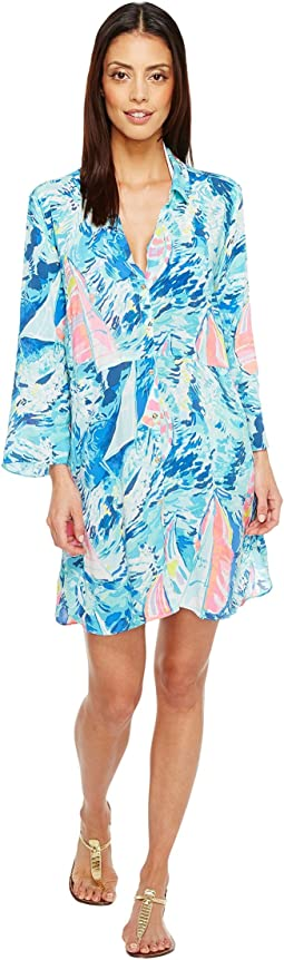 Lilly Pulitzer Emerald Beach Cover-Up Tunic