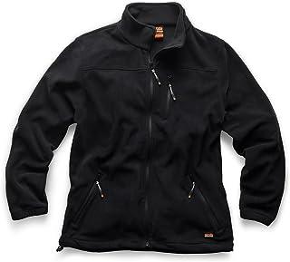 Scruffs Mens Water Resistant Worker Fleece Black
