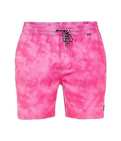 Hurley 17 Paradise Volley Boardshorts (Lotus Pink) Men