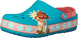 Crocs Girl's CrocsLights Disney Moana Clog