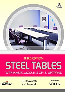 Steel Tables with Plastic Modulus of I.S. Sections, 3ed