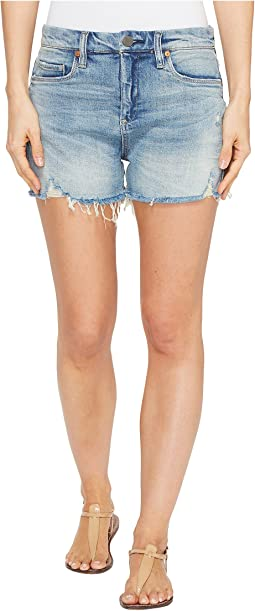 Blank NYC - Denim Shorts with Lacing Detail in Mind Mischief