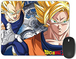 JNKPOAI Dragon Ball Mouse Pad Fun Game Mouse Pad, Made of Rubber for Office