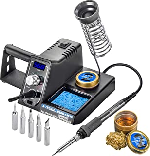 X-Tronic Model #3020 Digital LED 75 Watt Soldering Iron Station – 10 Minute Sleep..