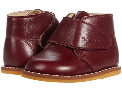 Elephantito Bootie w/ Strap (Toddler) (Berry) Girl